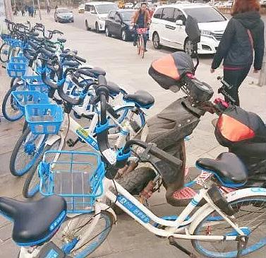 11月起沈阳实施共享单车禁停区处罚措施