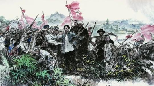 秋收起义历史图片