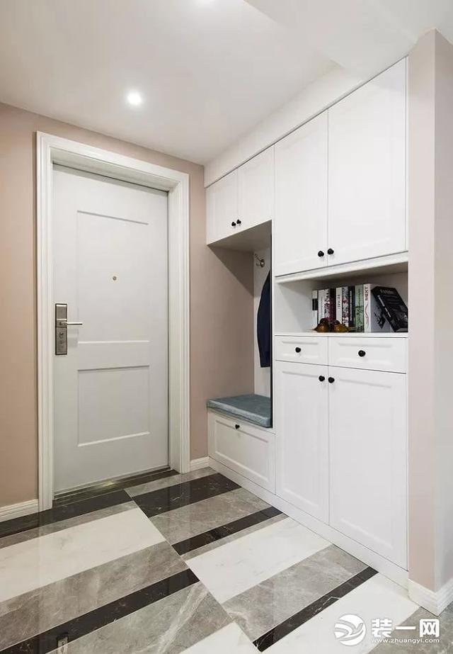 130平米美式风格三居室,预算15万,点击看效果图!-庭瑞新汉口装修