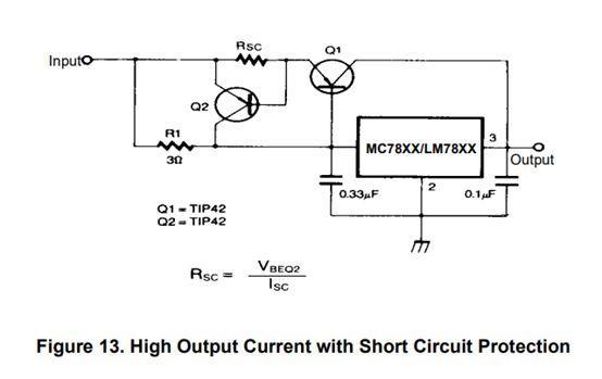 解析7805稳压电源电路图 7805稳压工作原理及典型电路 KIA MO...