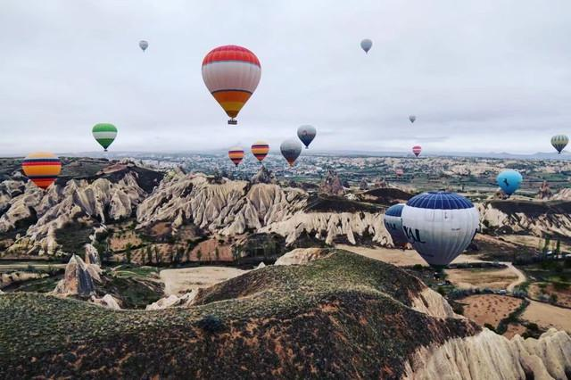 土耳其热气球简笔画