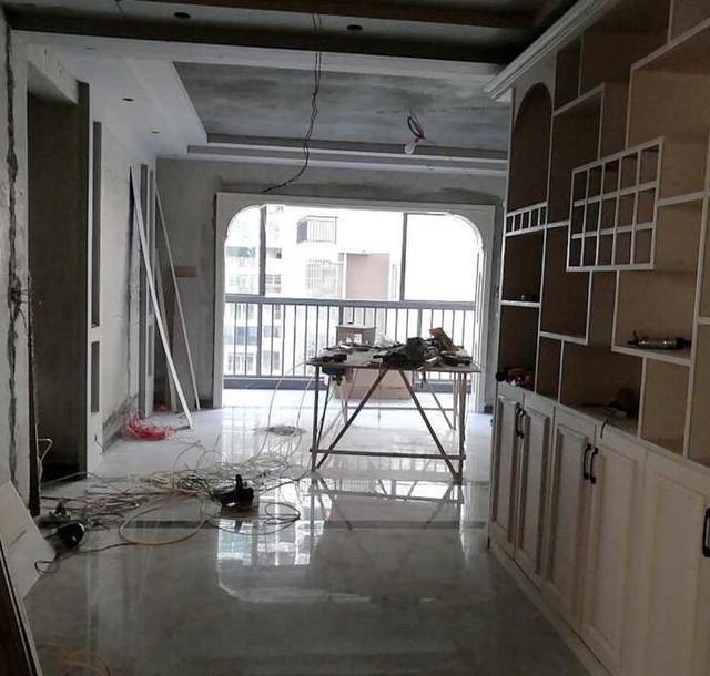 木工免漆板酒柜效果图