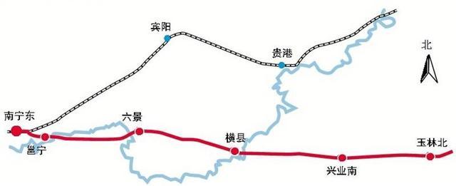 南宁至玉林第二高速公路够直,直到不敢相信[关闭讨... -红豆社区