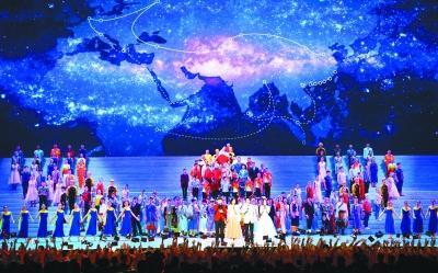 文艺晚会《我们的四十年》在北京人民大会堂盛大举行
