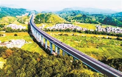 沪昆高速公路全段地图