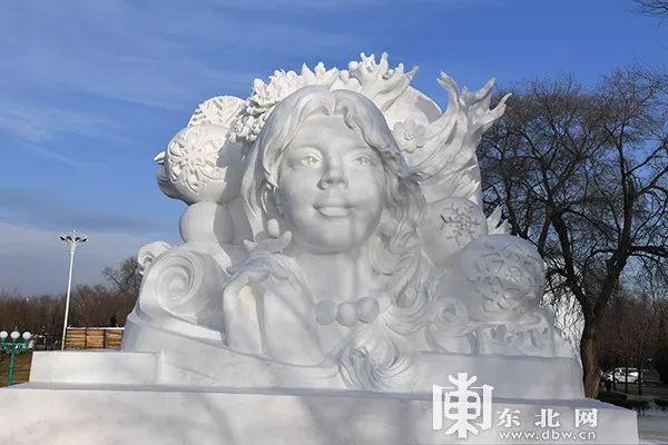 黑龙江冰雪大世界图片
