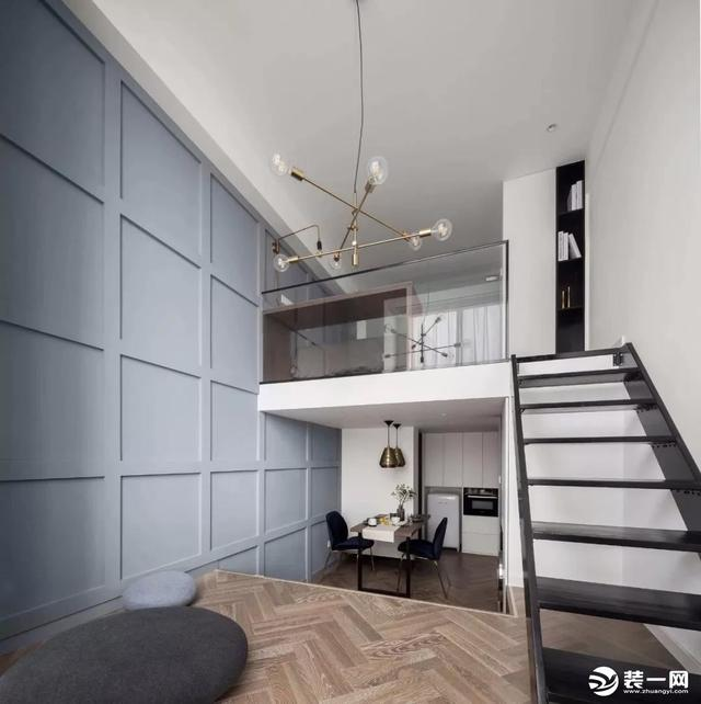 30平loft装修设计案例