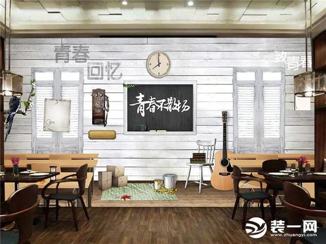 主题餐厅装修设计案例欣赏:还没进门,已被圈粉!