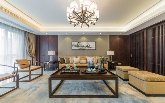 145平米现代风格四居室,预算12万,点击看效果图!-新黄小区装修