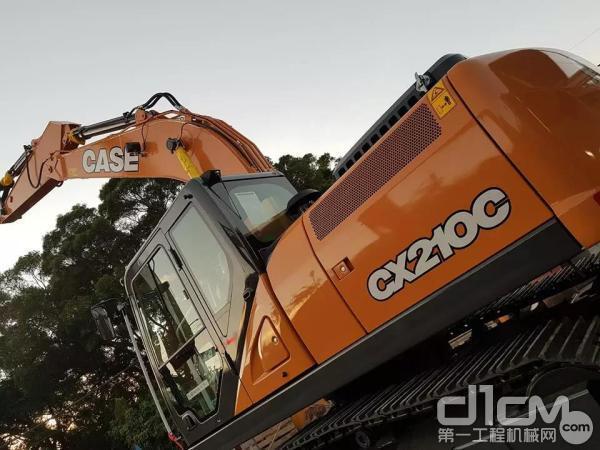 凯斯CX210C挖掘机:智勇兼备 无往不利