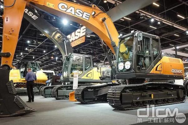 凯斯CX240C、CX260C 挖掘机 你不将就的选择