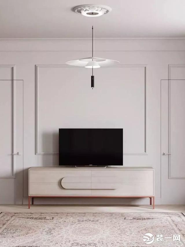 石膏线条电视墙