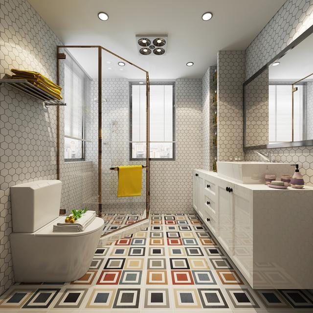 主房与卫生间设计效果图片大全_主房卫生间设计装修图片大全