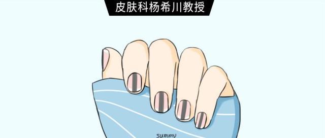 指甲长了道黑线,可能是恶性肿瘤!这5种症状你对照下!
