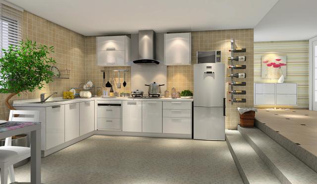 厨房电器安装师傅图片