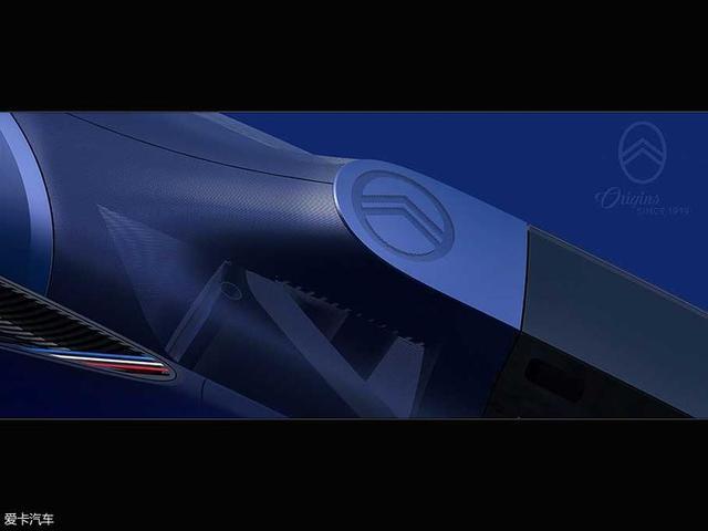 雪铁龙官方发布了一款全新电动概念车的预告图。