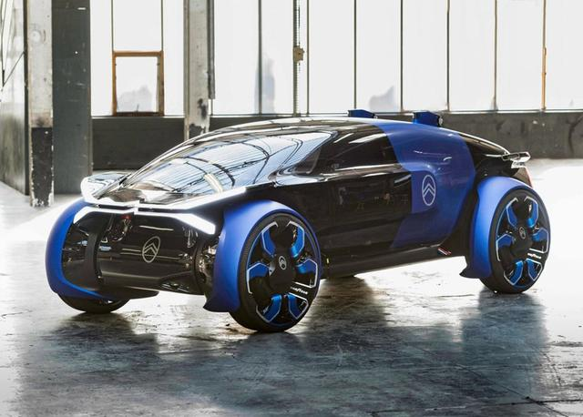 颠覆眼球的设计!灵感源自战斗机,车内四个座位,续航800KM