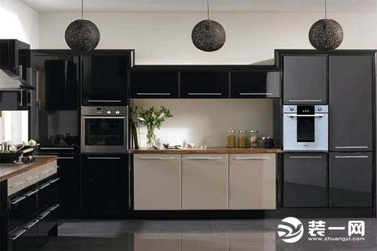 嵌入式烤箱廚房效果圖