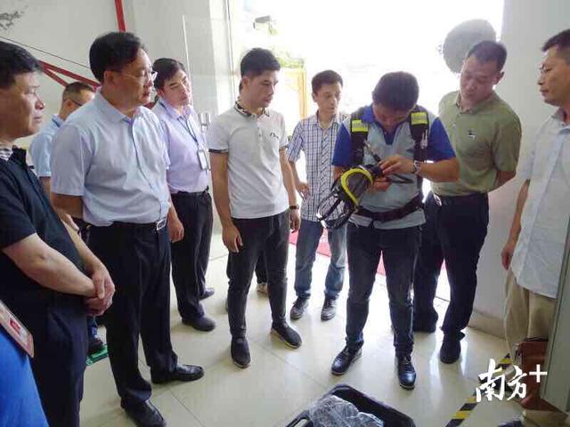 东莞市应急管理局局长张志强赴虎门、厚街督导应急管理工作