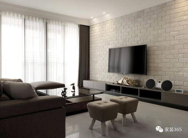 这几款电视背景墙设计被90后业主狂赞!年轻人就该这么装背景墙!