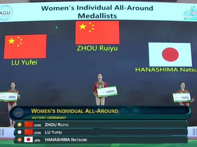 16岁自贡姑娘带伤参赛 斩获亚洲体操锦标赛两枚金牌