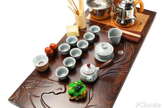 【10件套】哥窑茶具礼盒装 旅行功夫品茗家用办公室用茶具