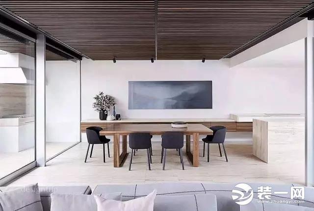 100㎡现代简约风格装修设计案例,淡蓝色的家清新自然,简洁明快