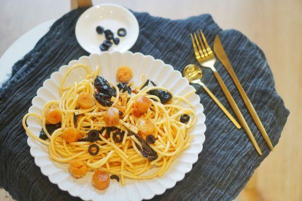 意大利美女大厨教你2分钟制作正宗海鲜意大利面