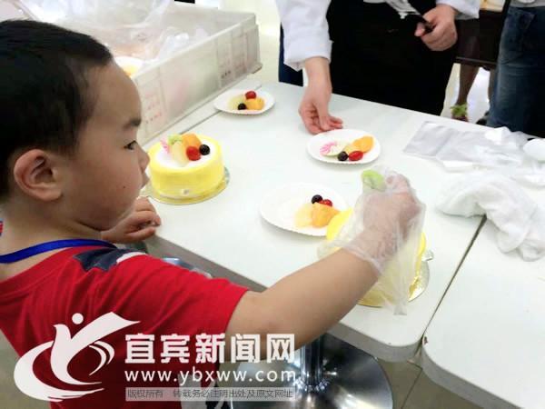 亲子diy蛋糕_成都志愿者