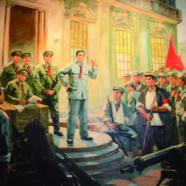 「日历」1927年8月1日 · 南昌起义举行
