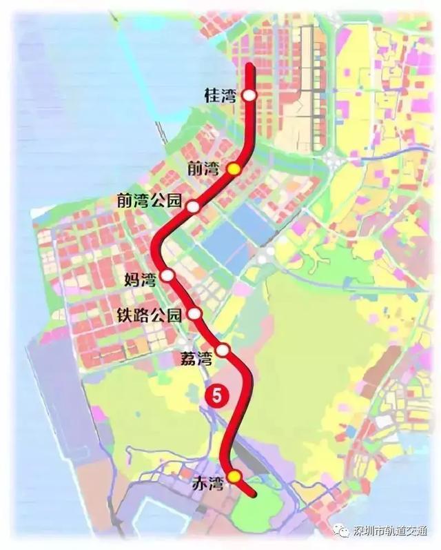 深圳地铁5号线西延线最新进展来了!预计2025年建成通车