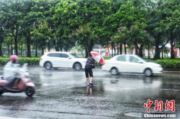 广西壮族自治区北海市气象台发布台风黄色预警