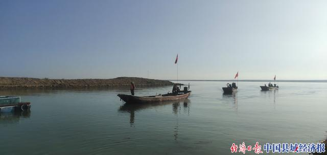 新疆福海县:禁渔期结束 乌伦古湖正式开湖捕鱼