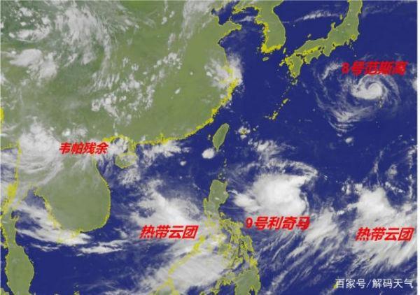 温州台风最新路径图