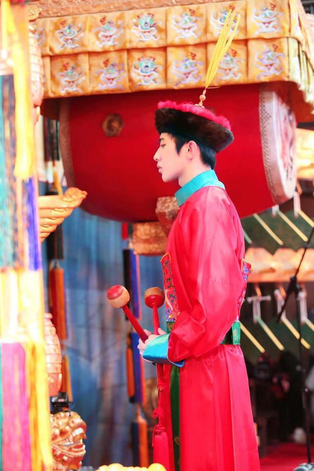 清代男子服饰图片