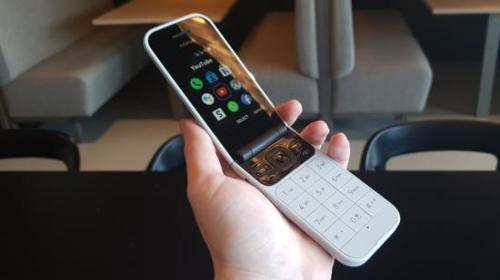 诺基亚再推翻盖手机:4G、实体按键、耳机孔 售价700元