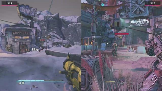 无主之地3、无主之地2 游戏画面对比 无主之地2 游戏资讯 第2张