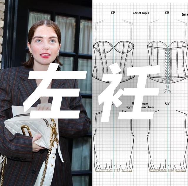 领子制版|翻折领的结构设计与制图