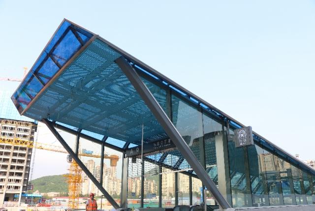 深圳地铁5号线延长线下周六开通!市民搭乘可直达赤湾