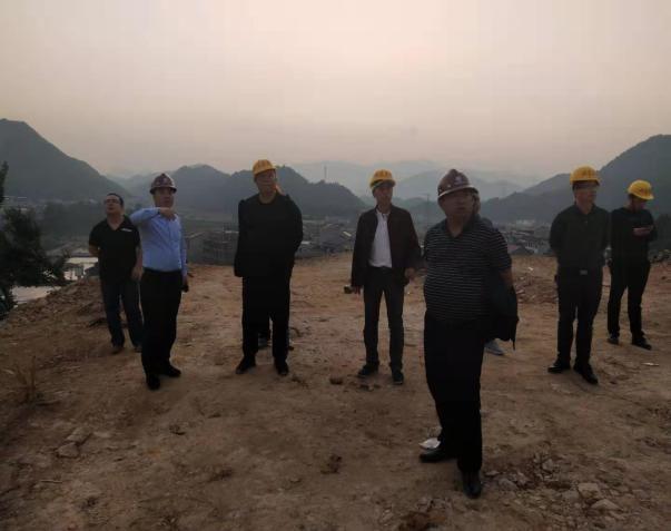 卢映云带队检查福山公园项目建设安全生产工作
