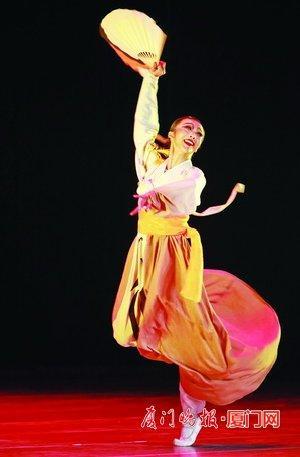 厦门市文艺人才重点资助项目于馨舞蹈专场上演