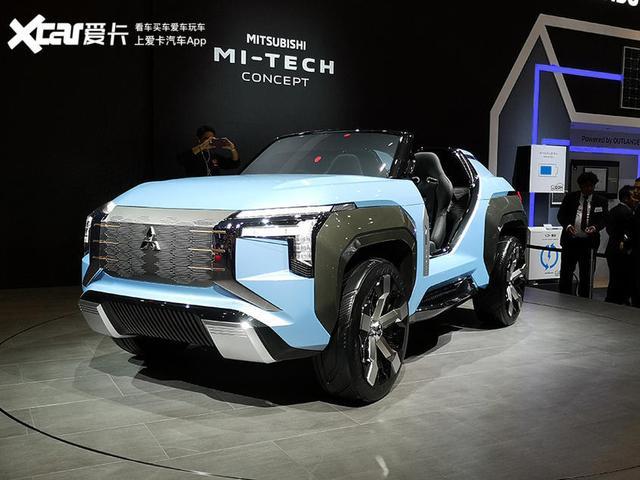 设计感超前 科技范更足 三菱MI-TECH东京车展首发