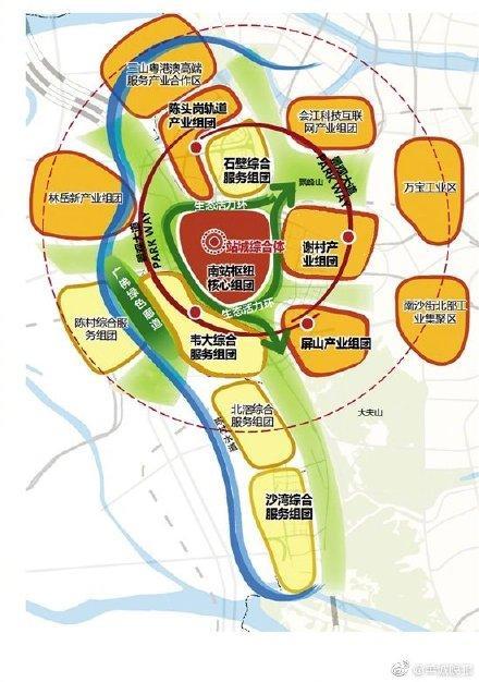 广州南站周边地区控规出炉 建4条快速干线直达中心城区