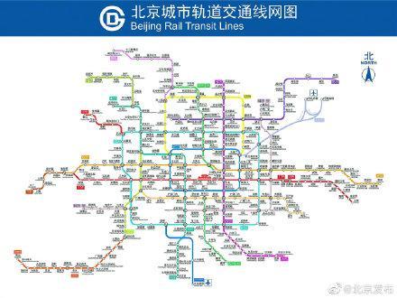 北京地铁拥挤图片