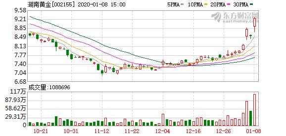 湖南黄金(002155)股票最新价格行情,实时走势图,股价分析预测...