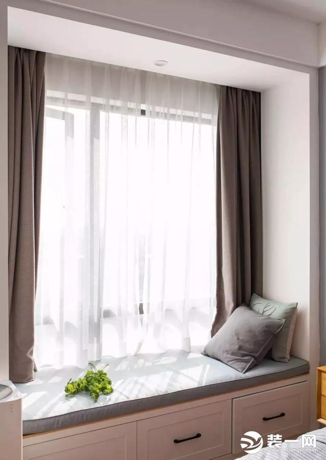 小户型卧室飘窗如何装修?9组最流行装修效果图推荐