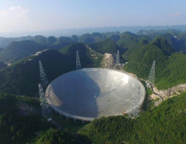 """全球最大射电望远镜FAST正式""""上岗""""数据量同样达""""天文级"""""""