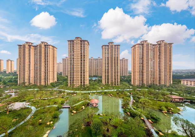 高280米的星河湾集团总部大楼,位于广州琶洲西区,美国SOM设计