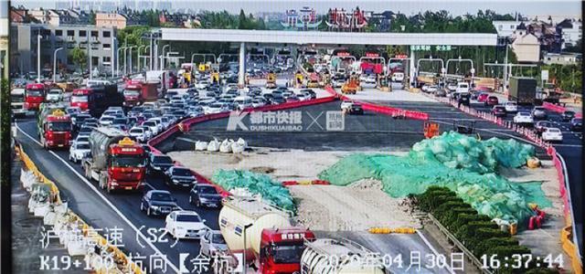 流量大增!今天下午起,杭州高速和高架已开启堵车模式,你被堵着了吗?