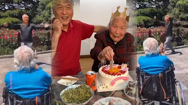 保重!梅艳芳97岁母亲被曝于凌晨紧急入院:唯一在世长子表现轻松